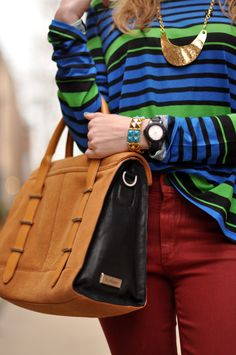 love these colors and the bag