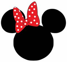Freebie Minnie Mouse head svg