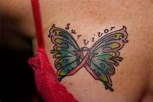 Pink Ribbon Butterfly Tattoo - Bing Images