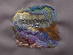 beautiful embroidery by Anna Jane Searle