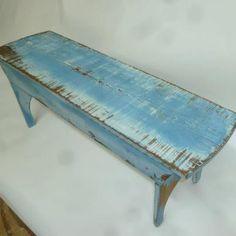 distress bench, idea, benches, board bench