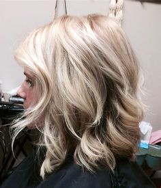 Cool Blonde with Highlights and Lowlights