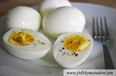 Perfect eggs--use a safety pin or thumb tack! And soak in water to get rid of any smells.