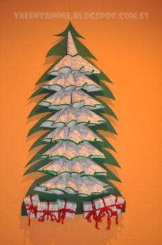 Tutoclajes Tutoriales y reciclajes: + Arbol de navidad Reciclado