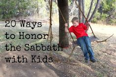 20 Ways to Honor the Sabbath as a Family