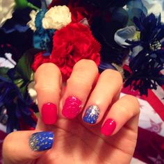 Happy 4th of July nails!