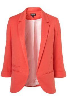 Ponte boyfriend #blazer- pink blush