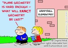 """Fancy geometry?  Could that be a """"solid"""" question?"""