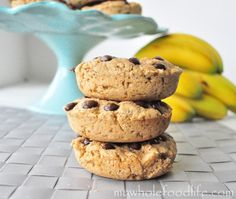 Peanut Butter Chocolate Chip Donuts | My Whole Food Life
