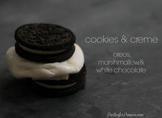 Smore Combinations by PartiesforPennies.com - Oreos