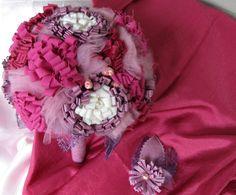 Wedding bouquet,Pink/raspberry bridal bouquet, bridesmaids bouquet, weddings bouquets