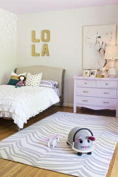 lavender bedroom. Girl Room, Letter, Big Girl, Lavend Bedroom