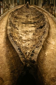 This is the only Viking ship burial found in Denmark. Ladby - 9th century.