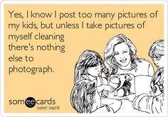 Ha! #momtruths #motherhood