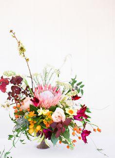 protea flower arrangement