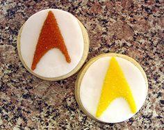 Star Trek freakin cookies!