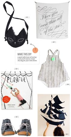 sweet round up for the kiddos from Creature Comforts