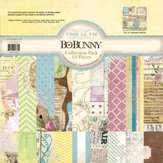 Bobunny's new collection C'est la Vie, this kit is loaded with goodies. $37 plus s/h