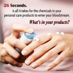 Beauty products - List of ingredients, why they are bad, and how to spot them on labels. GREAT info.