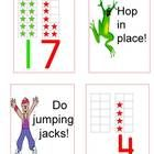 This ten frame number game gets students up and moving while they learn about numbers!
