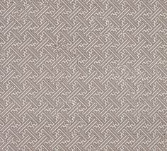 John Mahoney Designs | Hand Printed Cotton in Tsuba Dub Hickory #textiles #fabric #linen #brown