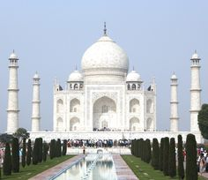 Mughal emperor Shah Jahan built the Taj Mahal in memory of his wife, after she died giving birth to their 14th child.