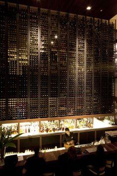 """NOI Hotel / Jorge Figueroa + Asociados - can you say """"wine rack""""?"""