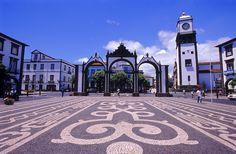 Portas da Cidade in Ponta Delgada - Sao Miguel island - Açores