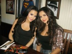 Beautiful Lebanese Twin Girls