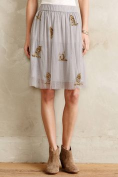 Sparked Tulle Skirt - anthropologie.com