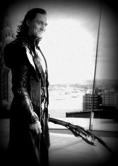 Loki-When he smiles you know there's something going on in his brain