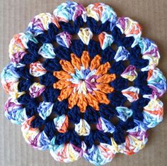 #238 Flower Child Crochet Dishcloth – Maggie Weldon Maggies Crochet