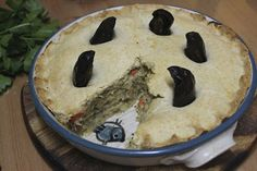 Green Gourmet Giraffe: The mystery of (vegan) Stargazy Pie