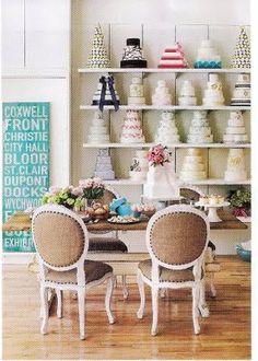 wall displays, beauti cake, dream, shop displays, beautiful cake shops, wedding cakes, cake display, display shelves, beautiful bakeries