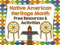 LMN Tree: Celebrating Native American Heritage Month: Free Resources and Free Activities