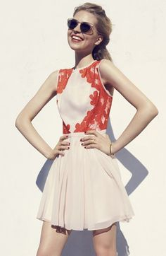 Gorgeous! Ted Baker London Fit  Flare Dress | Nordstrom