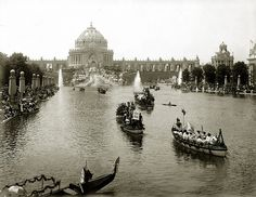 1904 Floral Parade of Nations, St. Louis World's Fair by Missouri History Museum, via Flickr