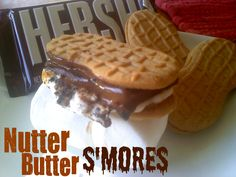 Nutter Butter S'mores..oh yeah!