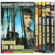"""""""Among the Hidden"""" book set"""