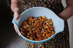 """Naked """"Chex Mix"""": A more natural, heart-healthy version of a classic snack food"""