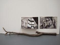 Jo Oldfield: installed drawings