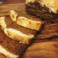 Cream Cheese Pumpkin Bread