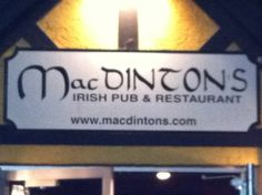 MacDinton's Irish Pub & Restaurant in Tampa, FL: Big TV's, great food and drinks, great atmosphere! From @Katie Hicks. Find more places to watch the World Cup in the USA: http://pin.it/AeGWA1a