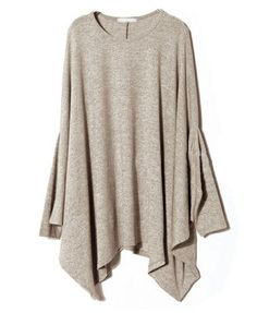 Oversized Knit Tops