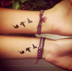 Flying birds tattoo : http://dcer.eu/fr/60-flying-birds-tattoo-x2.html From @Manoncarbonne