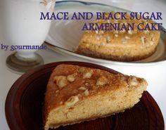 Kurozato black sugar and mace Armenian cake. Armenian challenge.