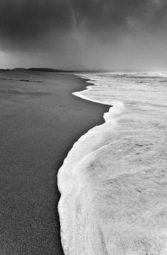 Black and white beach shots, Bathroom Art, black and white