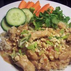 Slow Cook Thai Chicken    #slowcooker #crockpot #chicken