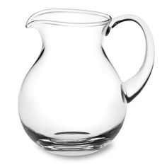 Williams Sonoma Pitcher. Warm summer evenings with soft breezes on our lattice-covered patio invite me to serve homemade lemonade in this, which I've loved for years.