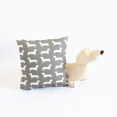 {Dachshund Dog Mini Pillow}